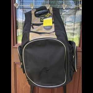 New Black Laptop Bag Mens Backpack Karin Rashid